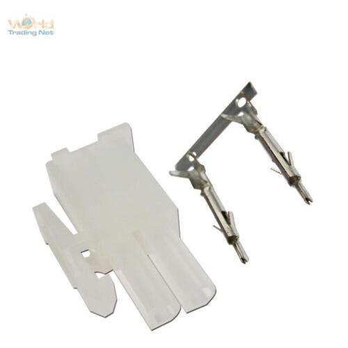 10 paire Connecteurs 2 broches avec crimpkontakten idéal pour LED installation projecteur