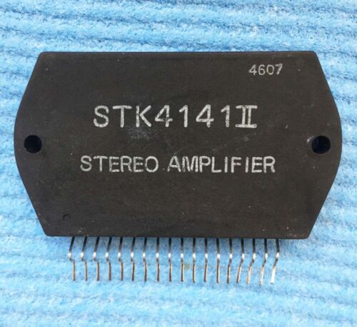 1pcs STK4141II SIP-ZIP 2-channel AF Power Amp