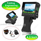 "CCTV Security Camera Tester 4.3"" LCD Monitor Video/Audio/UTP Test DC 12v"