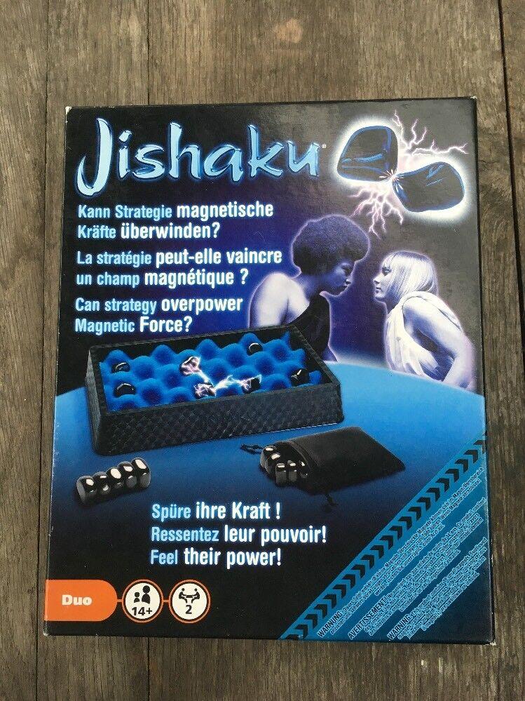 Jishaku  bewegt sich brettspiel magnetische steine boxed strategie 100% abgeschlossen