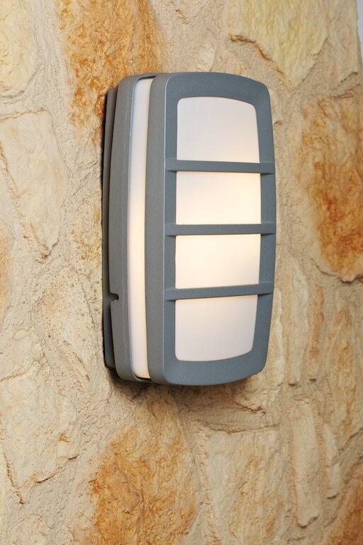Lampada da giardino 2 luci Design Applique da esterno Moderno Alluminio 30137