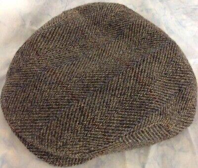 Polo Assn U.S 6 Panel Design Newsboy Cap Mens Herringbone Ivy Flat Cap
