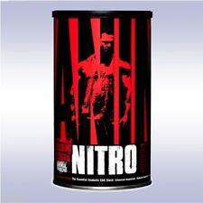 UNIVERSAL NUTRITION ANIMAL NITRO (44 PACKETS) bcaas eaas anabolic stack pak stak