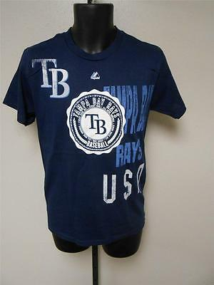 Xl Majestic Marke T-shirt Ein BrüLlender Handel Flight Tracker Neu Tampa Bay Rays Herren Größen S Weitere Ballsportarten Baseball & Softball