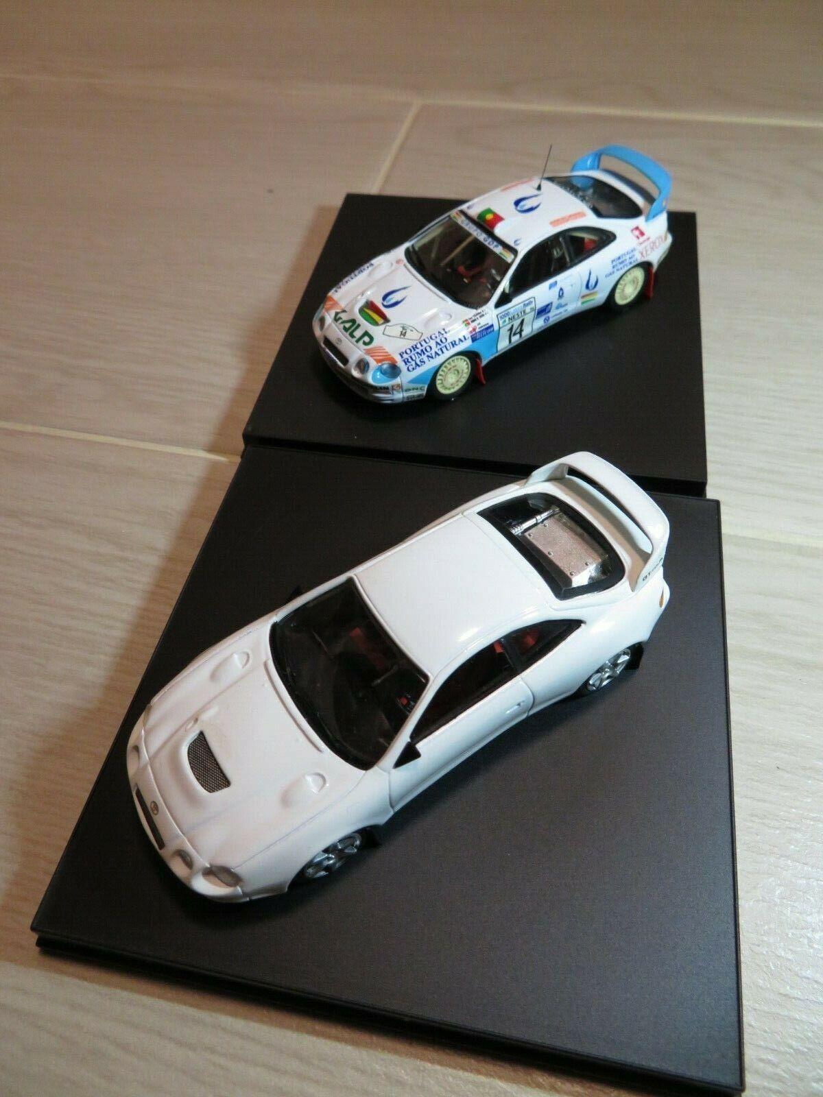 1 43 Trofeu Jugueteota Celica GT Four + Gas de Portugal  14 Rally Diecast (2 un.)