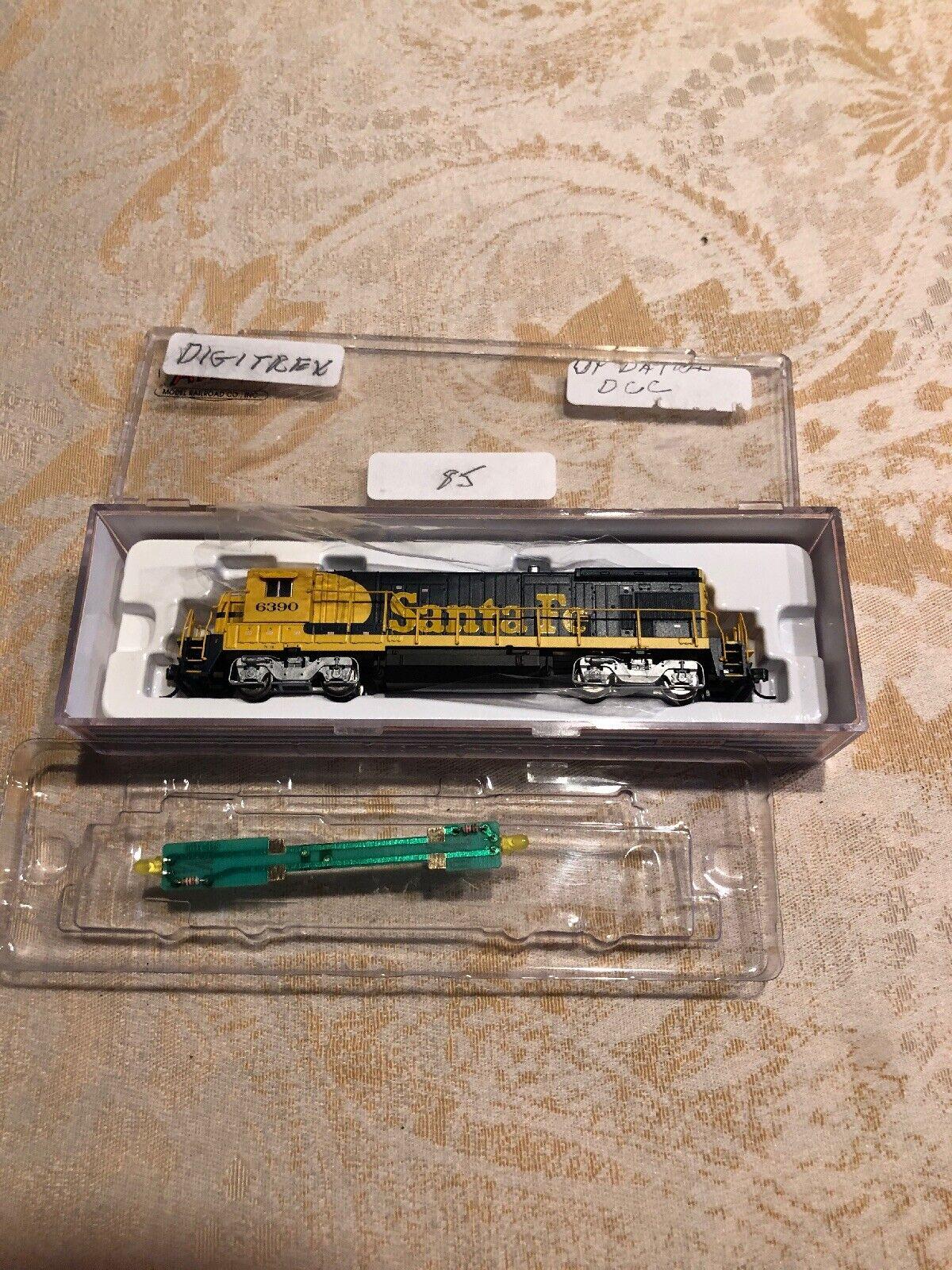 NOS ATLAS 49707 B23-7 Locomotive SANTA FE DCC EQUIPPED DIESEL TRAIN N