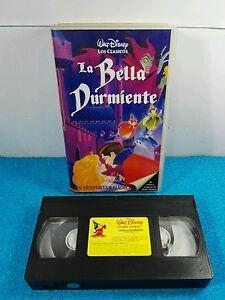 Vhs Vintage Walt Disney Los Clasicos De Disney La Bella Durmiente
