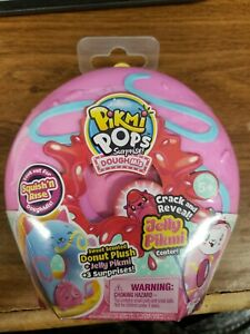 PIKMI POPS Surprise DOUGHMIS  Donut Jelly Pikmi Mystery Dough Sealed Lot of 3!