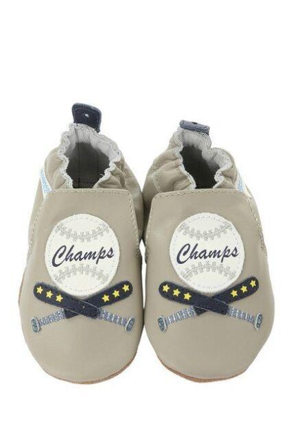 NIB ROBEEZ Shoes Champ Baseball Gray