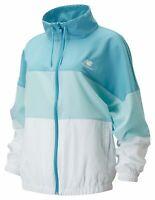 New Balance Womens NB Athletics Windbreaker Jacket (Blue)