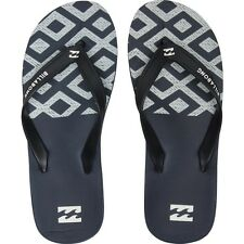 2015 NWT MENS BILLABONG ALL DAY INTERLOCK SANDALS $28 10 indigo half white
