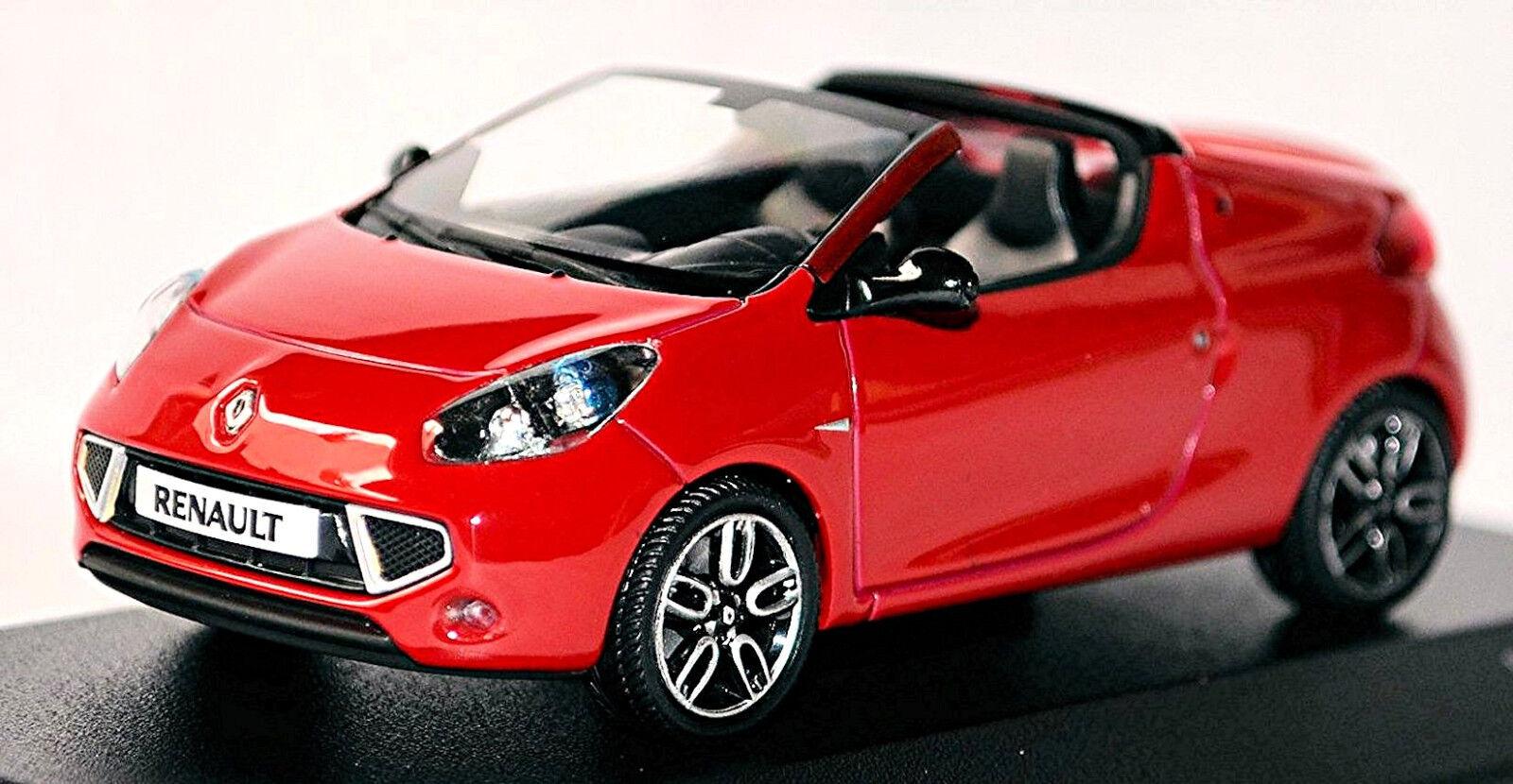 Renault Wind 2010-12 Rouge rouge 1.43 MINICHAMPS
