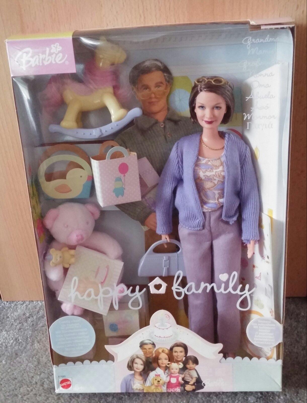 Mattel Barbie Happy Family Großmutter / Grandma (B7690) Ovp Rarität