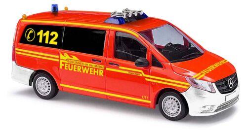 Busch 51119 Spur HO MERCEDES-VITO vigili del fuoco Geislingen #neu OVP #