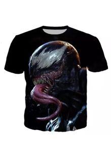 2019-Marvel-Venom-3d-drucken-Laessige-Pullover-T-Shirt-Large