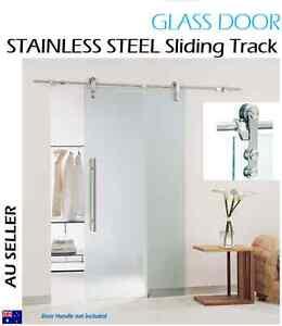Image Is Loading Stainless Steel Sliding Barn Door Hardware For GLASS