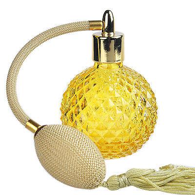 Vintage Crystal Perfume Bottle Spray Atomizer Glass Bottle Lady Gift 110 ml NEW