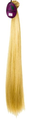 Short Weft Milk Tea Brown Synthetic Hair 17 inches in length 40 inches long