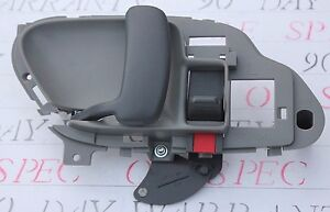 New Chevy Silverado Inside Door Handle Left Gray 1995 1996 1997 1998 1999 Grey Ebay