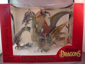Les dragons de Mcfarlane série 7 Hydra Clan Dragon Figure Set Boxed Ultimate Scellé!   787926511994