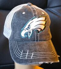 Philadelphia Eagles Distressed Trucker Cap Low Profile Special Cotton Mesh Hat