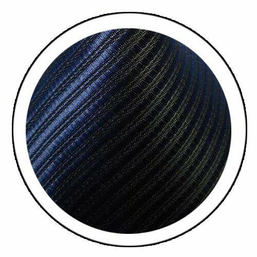 Mens Classic Striped Tie JACQUARD WOVEN 100/% Silk Ties Necktie Dark Blue #L288