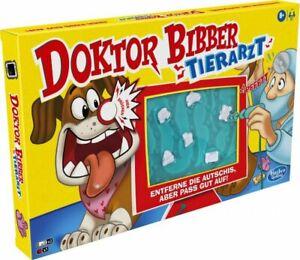 Hasbro E9694 Doktor Bibber Tierarzt Geschicklichkeitsspiel Gesellschaftsspiel