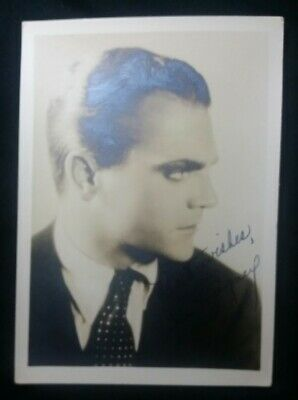 Imported From Abroad Vintage Hollywood 1930's James Cagney Signed Autographed Photo 5x7 Movies Cards & Papers