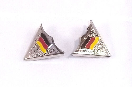 Col Coins Allemagne Germany Cowboy Rodeo SQUARE DANCE Texas Collar Tips