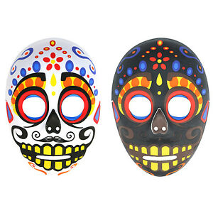 mens day of the dead mexican sugar skull