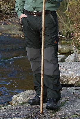oliv Stretch-Cordura Zeck-Protec-Ausrüstung SHOOTERKING Jagdhose Ripstop
