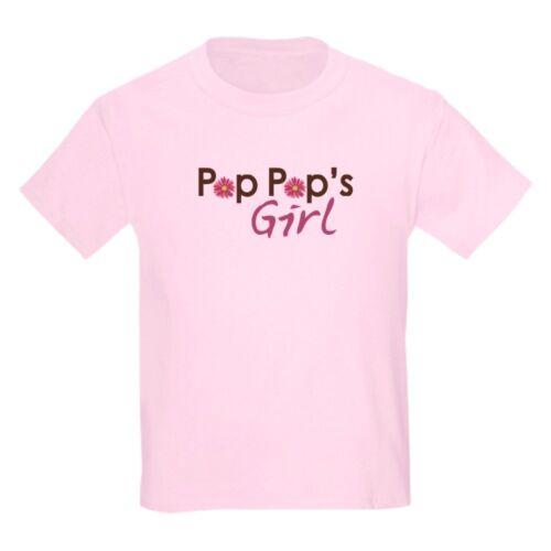 CafePress Pop Pop/'s Girl Kids Light T Shirt Kids Light T-Shirt 512958662