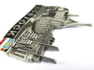 Rostock Metal Magnet Germany Souvenir, New