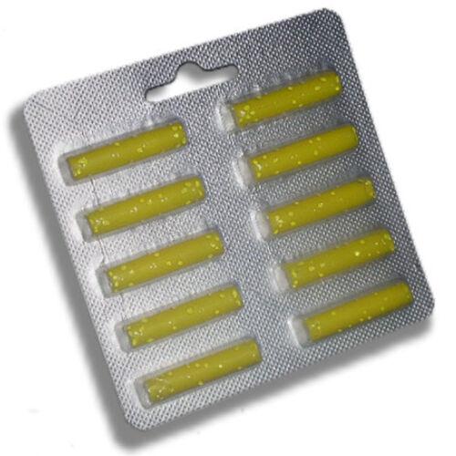 10 x Duftstäbchen gelb geeignet für Vorwerk Tiger 260