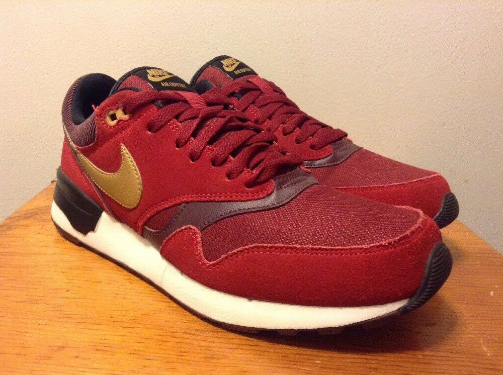 Nike AIR ODYSSEY Gym Red/Team Red/Metallic Gold 652989-602 Men's Shoes Size 10