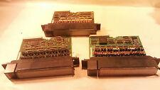 Lot Of 3 Fanuc I/O Modules D5C7A1 D4C7A2 I5C7A2