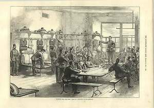 1875 Sale Of A Deserters Kit In Barracks - Jarrow, United Kingdom - If for any reason you are not satisfied with your item, do let us know. If you wish to return it, you may, within 7 days, and we will issue you with a full refund. Most purchases from business sellers are protected by the Consumer - Jarrow, United Kingdom