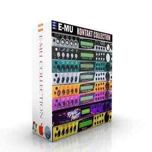 Infatigable Emu Complet Rack Collection + Emu Emax + Ensoniq Asr Pour Kontakt-afficher Le Titre D'origine