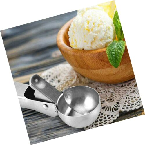 N... Durable /& Easy to Use with Trigger Details about  /2 Pcs Stainless Steel Ice Cream Scoop