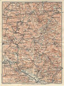 Cartina Molise Geografica.Molise Campobasso Isernia Carta Geografica Touring Club 1926 Ebay