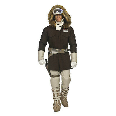 Deluxe STAR WARS Men/'s HOTH HAN SOLO Return of Jedi FULL Cosplay Costume XS-XL