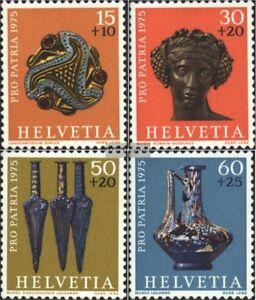 Schweiz-1053-1056-kompl-Ausg-gestempelt-1975-Pro-Patria