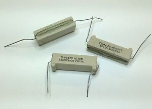 1-Ohm-15W-10-10-pcs-Wirewound-Cermet-Resistor-Axial-Lead-15-Watt-1ohm