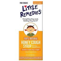 Little Remedies Honey Cough Syrup 4 Oz (pack Of 5) on sale
