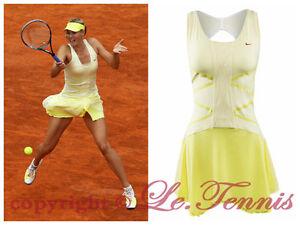 persona que practica jogging Sustancialmente Camello  Nike X Maria Sharapova Línea 9 Punto Gimnasio Túnica Vestido de Tenis Danza  Golf | eBay