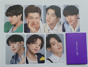 BTS Bangtan Boys Samsung Galaxy Official Photo Cards 7 members Full set + Gift