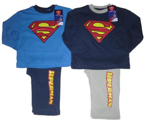 BOYS PYJAMAS SUPERMAN 2-8 YEARS