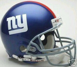 96abb4edb NEW YORK GIANTS RIDDELL AUTHENTIC PRO LINE NFL FOOTBALL FULL SIZE ...