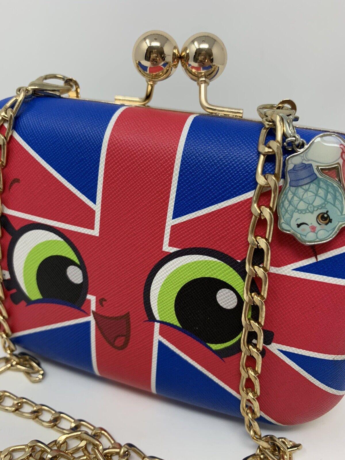 Shopkins BRITNEY Purse Union Jack Shoulder Bag wi… - image 3