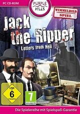 JACK THE RIPPER LETTERS FROM HELL WIMMELBILD SPIEL NEU
